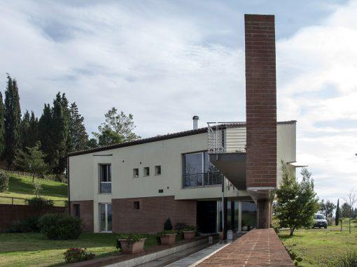 Villa privata – Siena